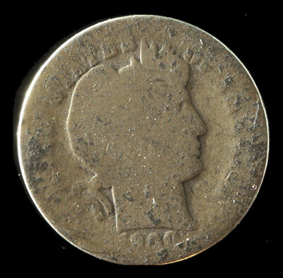 1900-O Barber 90% Silver Dime Ships Free. Buy 3 get xtra Silver Coin. NR