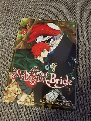 The Ancient Magus Bride 1 - NEW Lootcrate Anime Manga - Englisch