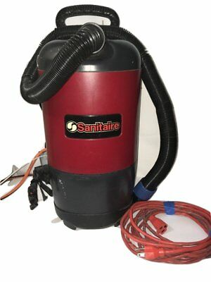 Sanitaire backpack vacuum cleaner  model sc412-vacuum only no wand-Preowned