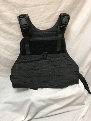 Eagle Industries Black Plate Carrier S/M Duty SF Delta