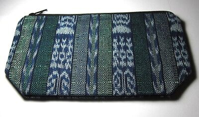Colorful New Guatemalan Expandable Bottom Zipper Lined Cosmetic Pouch/clutch ,