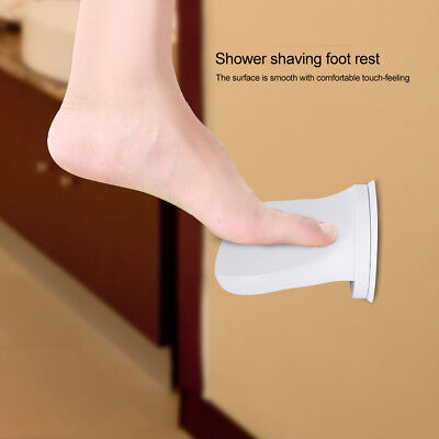 Bathroom Shower Foot Rest Suction Cup Step Non-Slip Plastic For Home Hotel New