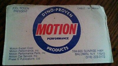 Motion Performance Business Card