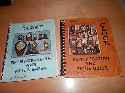 Clock Identification And Price Guide Books 1 And 2 By Roy Ehrhardt 1st Prints