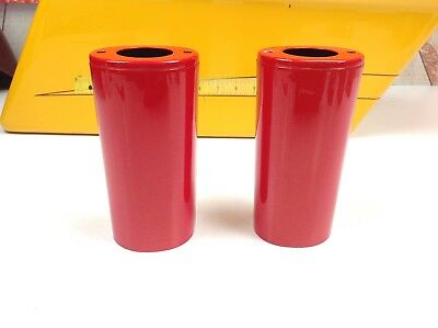 00-13 OEM Harley Touring and Softail Heritage Fatboy Lower Legs Cans Orange