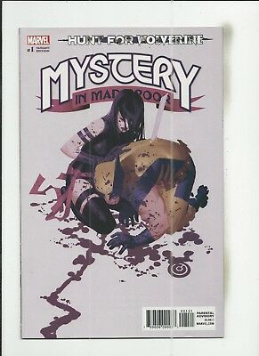 Hunt for Wolverine: Mystery of Madripoor #1 Chris Bachalo Variant Cover (VF+)