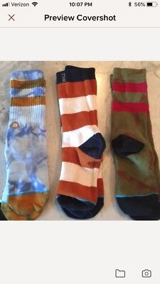 Stance Kids Socks lot of 3