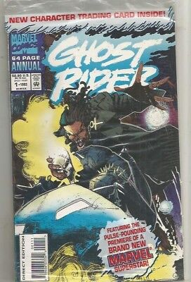 Ghost Rider Annual In Poly Bagged # 1***never Opened**very Fine Plus
