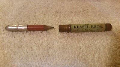 "Vintage ""Kessel Bros."" Bullet Pencil"
