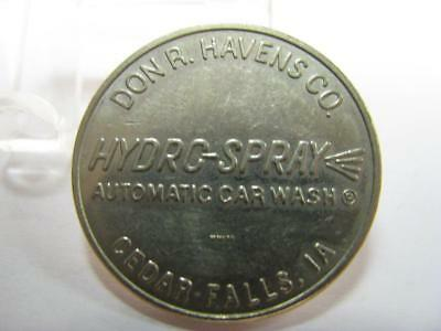 Cedar Falls Ia Car Wash Token