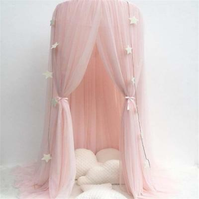 Bed Canopy Cotton Mosqutio Net Hanging Curtain Indoor Outdoor Play Reading Tent