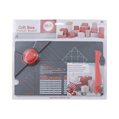 NEW We R Memory Keepers Gift Box Punch Board By Spotlight