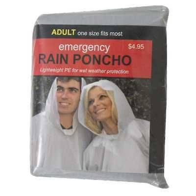 NEW Adult Rain Poncho By Spotlight