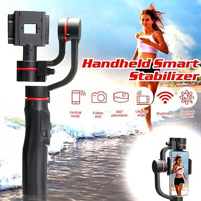 Smooth 4 3-Axis Handheld Smartphone Gimbal Stabilizer for iPhone Samsung GoPro