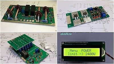 KIT for protection power amplifier 2400W LDMOS BLF188XR MOSFET TUBE