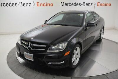 C-Class C 250 Coupe 2015 Mercedes-Benz C250 Coupe Sport, 1 Owner, Low Miles, Well Maintained