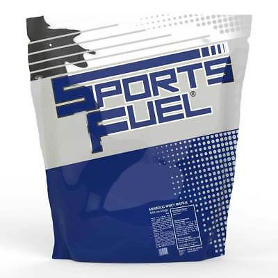 Anabolic Whey Protein Powder 80% Sports Fuel Muscle Matrix Shake 1Kg 2.27Kg 5Kg