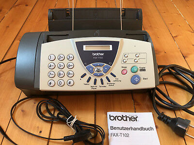 Faxgerät brother FAX-T102