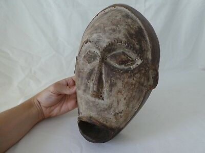 Old African Tribal Art Wooden Mask