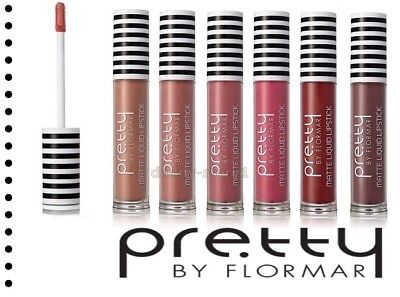 Liquid Matte Lipstick Pretty By Flormar 6 Shades Long Lasting