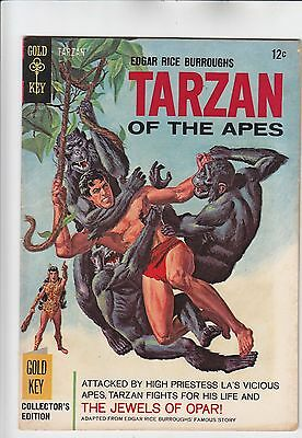 Tarzan #159 Jewels Of Opar Adaptation 1966 Gold Key Edgar Rice Burroughs ERB