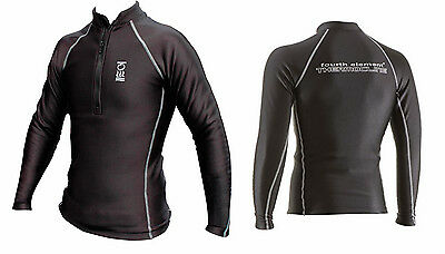 FOURTH ELEMENT Herren THERMOCLINE ZIPPED LONG SLEEVE Pullover Gr. M