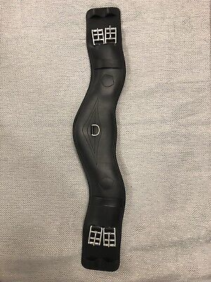 "Used only once - black Prestige Anatomic Girth model A42 65cm/26"", free postage!"