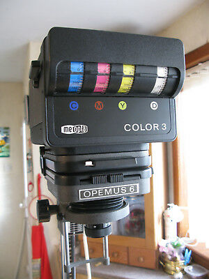 Meopta Opemus 6 Enlarger with Colour Head and Masking Facility,