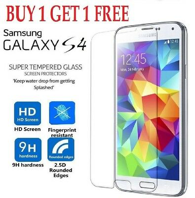 Real Tempered Glass Film Screen Protector For Samsung Galaxy S4