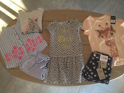 lot vetements fille taille 24 mois /2 ans .TBE/neuf