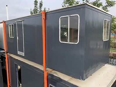Portable Cabin Office, Site Office, Welfare Unit, Portable Anti Vandal Canteen.