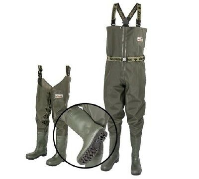 Snowbee Granite TOUGH PVC CHEST Waders Fishing Wader Hunting Rubber Boot NEW