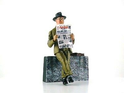 LeMans Miniatures 1:18 1960's Enzo Ferrari Reading Newspaper Figurine