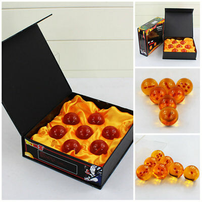7 Stars Crystal Balls 3.5CM Dragon Ball Z Set New Box 7 Pcs Complete Set