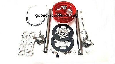 Blata doppelte Bremsanlage Elite, Origami C1 Pocket Bike Double Brake Kit 071010