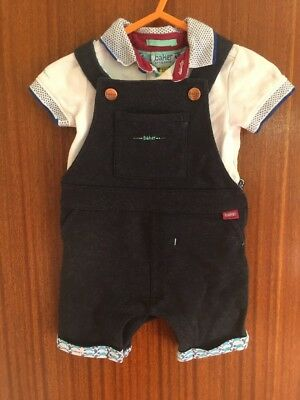 STUNNING TED BAKER BABY BOYS TWO PIECE SMART OUTFIT IN SIZE 0-3m