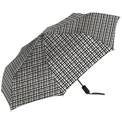 """The Ultimate UmbrellaTM by ShedRain 1.2m / 47.3"""" Arc(Black and White)"""