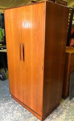 G PLAN FRESCO DOUBLE WARDROBE STUNNING MIDCENTURY RETRO (delivery available)