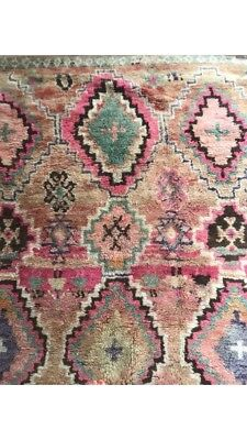 Antique Moroccan Boujad Rug - 10ft x 6ft. Perfect condition.