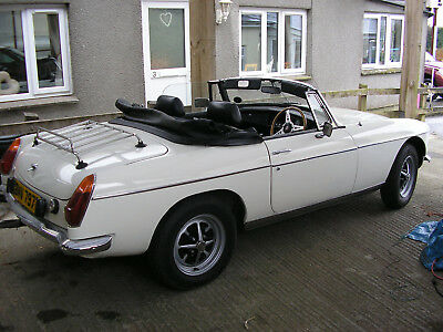 1978 MGB roadster - chrome bumper with overdrive