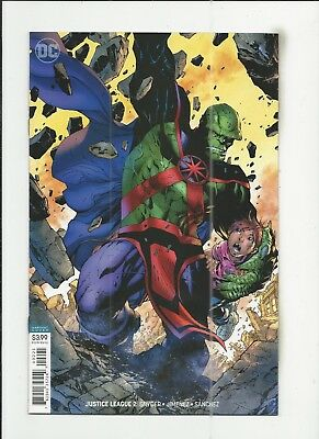 Justice League #2 (2018) Jim Lee Variant Cover near mint- (NM-) condition