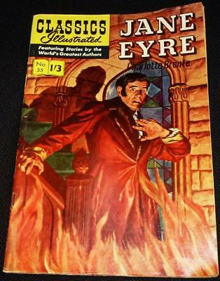 Classics Illustrated - Jane Eyre No.35 in good condition
