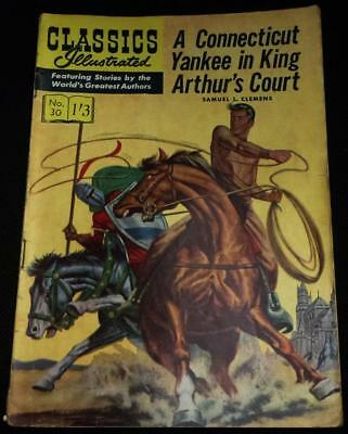 Classics Illustrated - A Connecticut Yankee in King Arthurs Court No.30