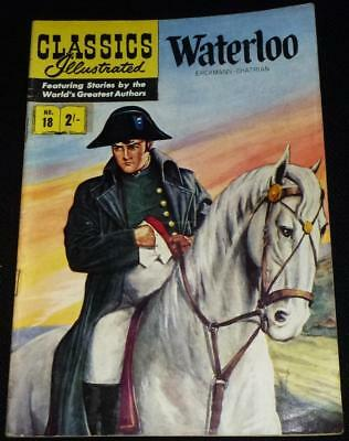 Classics Illustrated - Waterloo No.18 in good condition