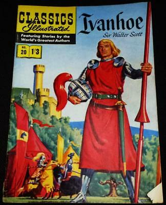 Classics Illustrated - Ivanhoe No.20 in good condition
