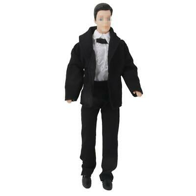 3pcs Prince Wedding Shirt Tie Suit Trousers Outfit for Ken Doll
