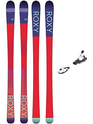 Roxy Freeski Set Ski Kaya 77 158 + L7 Ezytrak 2018 Freeski-Set Damen Frauen