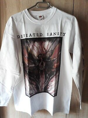 Defeated Sanity Longsleeve M, Dying Fetus Suffocation, Devourment, Arcanius