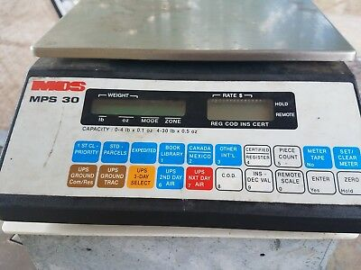 Mos Mps30 Scale 30lbs