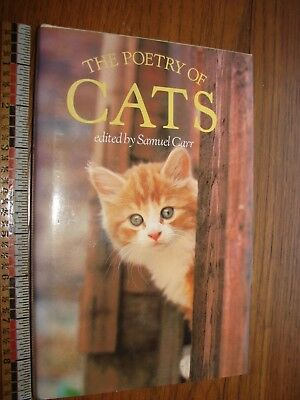 1991 The Poetry of Cats  HB- DJ- very good condition